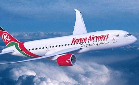 KENYA AIRWAYS ANNOUNCED SUSPENSION OF PASSENGER FLIGHTS BETWEEN KENYA AND THE UNITED KINGDOM
