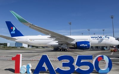 First A350 delivery to new airline world2fly
