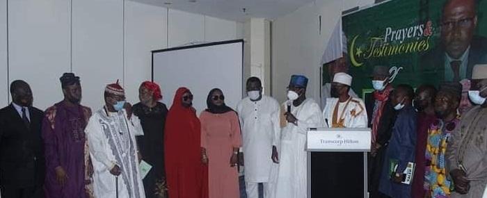 FTAN organised prayers in honour of late president
