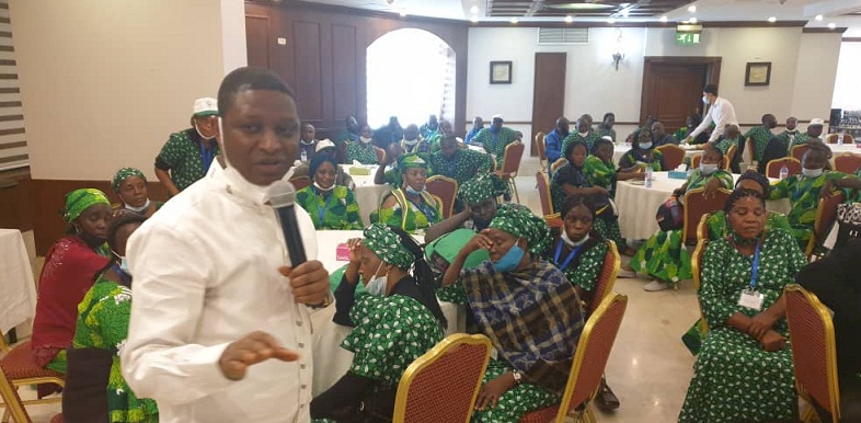 NCPC BOSS URGES PILGRIMS TO DEMONSTRATE THE VIRTUES OF CHRIST IN THE HOLY LAND